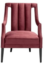 Eichholtz Ermitage Armchair Upholstery Color: Red
