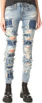 R 13 Alison Crop Jeans
