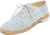 Maison Margiela Patchwork Denim Oxfords