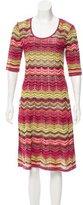 M Missoni Patterned Knit Dress