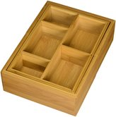 Lipper 8191 Bamboo Expandable Drawer Organizer