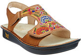 Alegria As Is Leather Embroidered Sandals - Viki