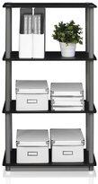 Furinno Multicolor MDF and Plastic 4-tier Multipurpose Shelf Display Rack
