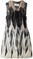 Urban Code Urbancode - faux fur waistcoat - women - Acrylic/Polyester/Polyurethane/Viscose - 8