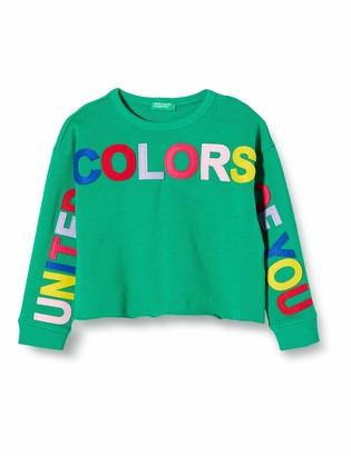 Benetton Girl's Felpa Sports Hoodie