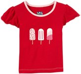 Kickee Pants Applique Tee (Baby) - Balloon Popsicle-12-18 Months