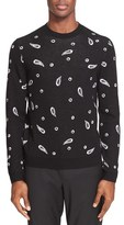 Paul Smith Men's Paisley Print Pullover