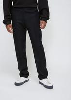 Dries Van Noten Navy Perkino Elasticated Trouser