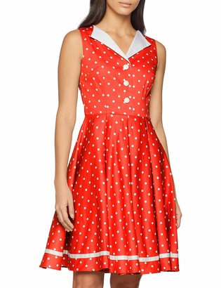 Joe Browns Women's All New Spot The Curls Dress Red (A-Red/White (Size:10)