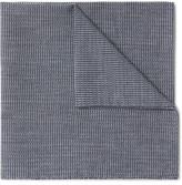 Oliver Spencer Gower Woven Cotton Pocket Square