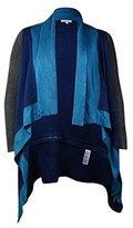 Calvin Klein Jeans Women's Colorblocked Poncho