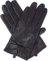 Sandro Leather gloves with bow detail