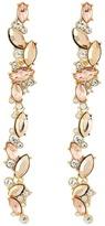 GUESS Linear Stone Earrings