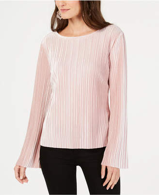 INC International Concepts Inc Pleated Velvet Top