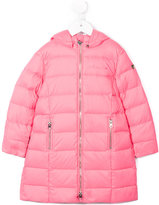 Armani Junior quilted hooded coat