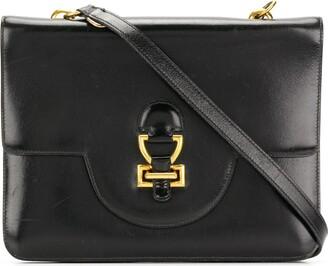 Hermes Pre-Owned classic leather shoulder bag
