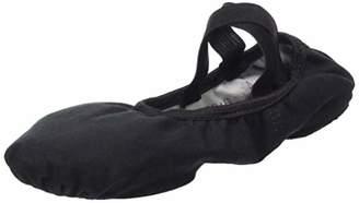 So Danca Women's Sd16 Regular (B Fit) Stretch Canvas Ballet ShoeBlack (Black), (40 EU)