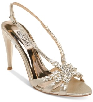 Badgley Mischka Jacqueline Ii Evening Shoes Women's Shoes