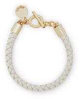 Reiss Barbet Leather Bracelet