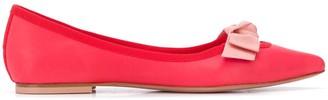 Anna Baiguera Malikaflex bow-embellished ballerina shoes