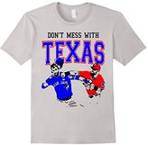 Punch Don't Mess with Texas - Bautista and Odor T Shirt