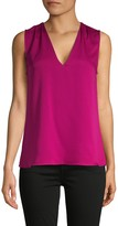 BCBGMAXAZRIA V-Neck Sleeveless Top