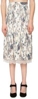 Willow & Clay Women's Print Pleated Skirt