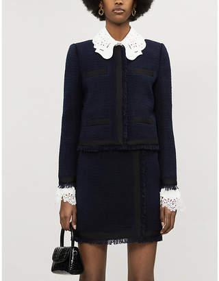 Claudie Pierlot Vinny tweed jacket