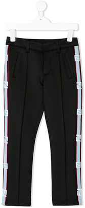 Fendi Logo Stripe Trousers