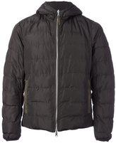 Eleventy zipped padded jacket