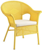 Pier 1 Imports Casbah Yellow Stacking Chair