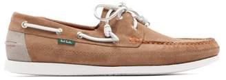 Paul Smith Archer Suede Deck Shoes - Mens - Khaki