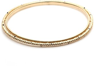Alexis Bittar Crystal Encrusted Spiked Bangle Br
