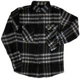 Brixton Bowery Flannel L/S Shirt Black