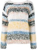 Chloé stripe knitted jumper