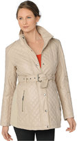 A Pea in the Pod Maternity Belted Quilted Jacket