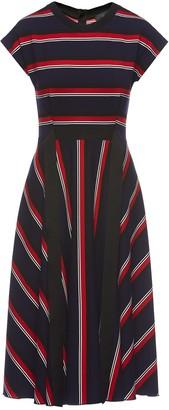 Nissa Pleated Print Dress