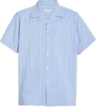 Engineered Garments Camp Striped Cotton Shirt