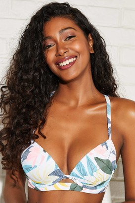 Ardene Floral Push-up Bikini Top