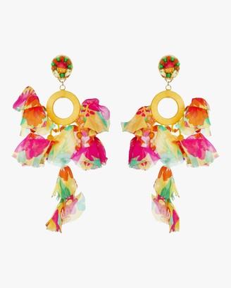 Ranjana Khan Marigold Clip-On Earrings