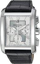 Raymond Weil Men's 4878-STC-00658 Don Giovanni Analog Display Swiss Automatic Black Watch