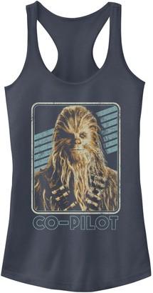 Star Wars Juniors' Chewie Co-Pilot Tank Top
