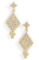Freida Rothman Women's 'Metropolitan' Pave Drop Earrings