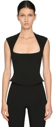 Thierry Mugler Tech Scuba Top