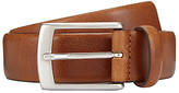 John Lewis Made In Italy Nevada Leather Belt, Tan