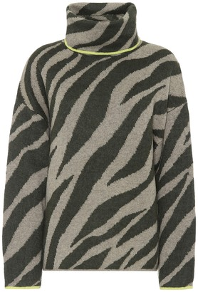 Rag & Bone Kiki zebra-jacquard sweater