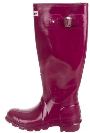 6f4624e3a2 Hunter Purple Boots For Women - ShopStyle Australia
