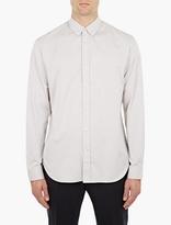 Maison Margiela Grey Cotton Shirt