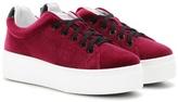 Kenzo Velvet Sneakers