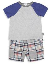 Splendid Infant's Two-Piece Muscle T-Shirt and Short Set